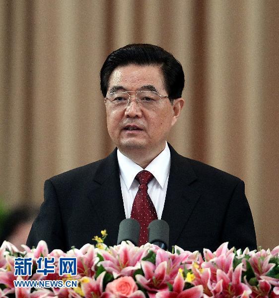 胡锦涛在深圳向邓小平铜像敬献花篮