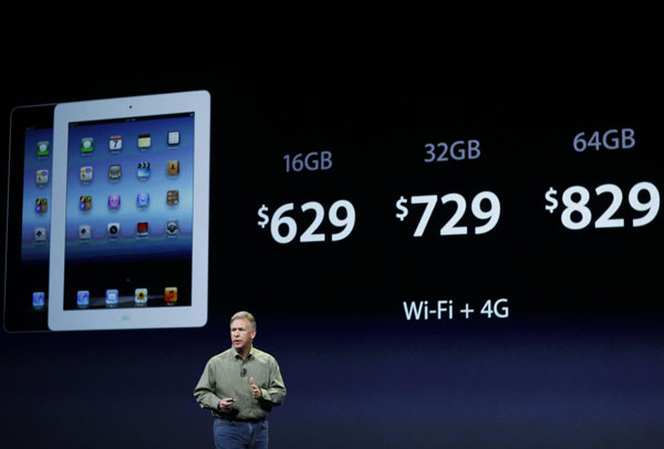Apple unveils 4G-powered iPad