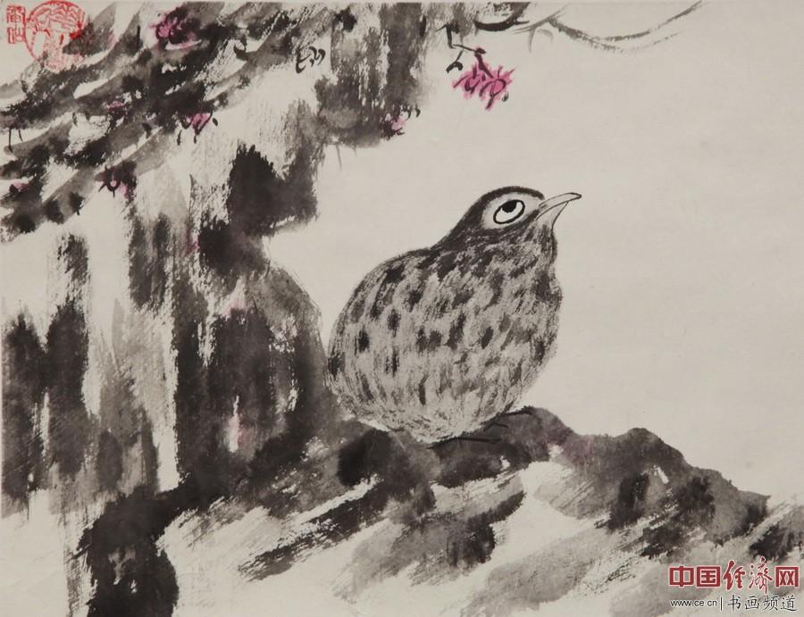 何�F熹国画作品