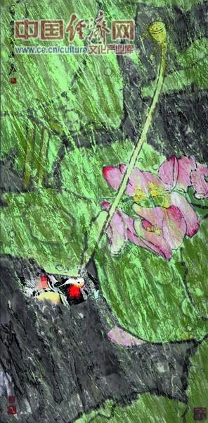 一帘幽梦 2005年180x96cm