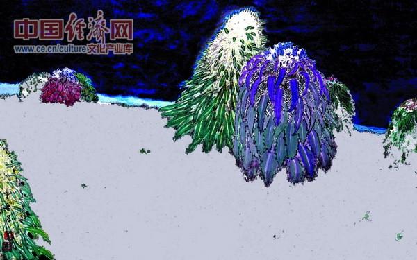 千载一瞥 2007年 66x96cm